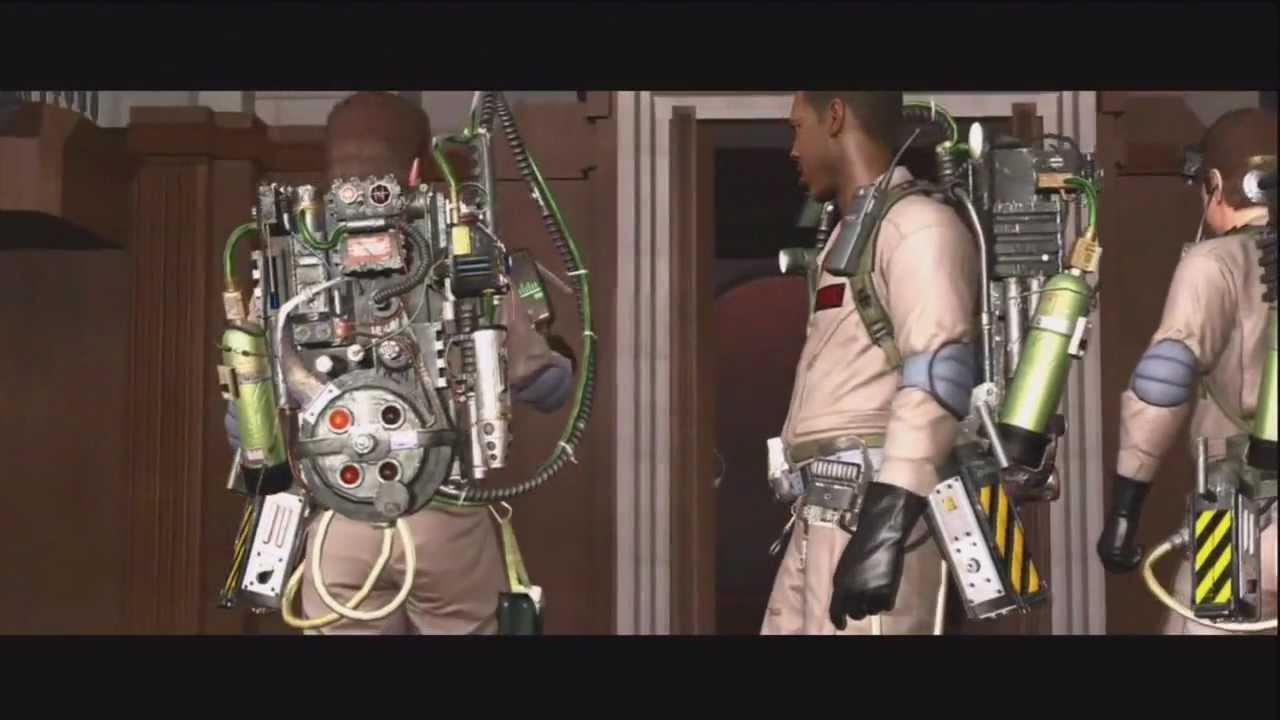 GHOSTBUSTERS THE VIDEO GAME  – THE MOVIE