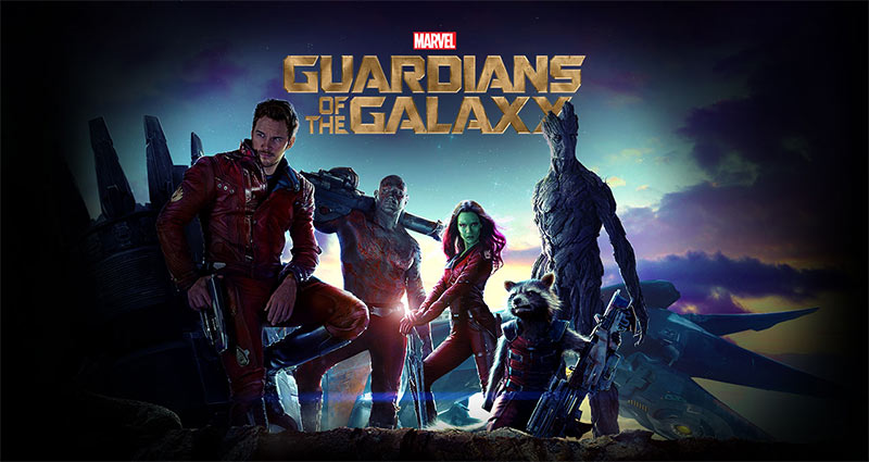 GUARDIANS OF THE GALAXY in 3D
