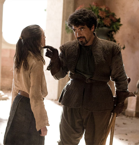 Miltos Yerolemou aus GAME OF THRONES in STAR WARS EPISODE VII