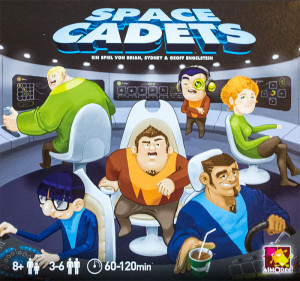 Cover SPACE CADETS