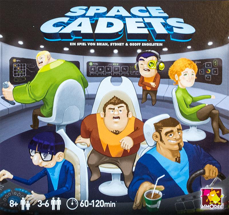 SPACE CADETS – das Brettspiel: Planlos im Weltall