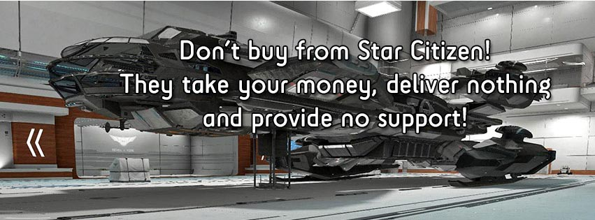 STAR CITIZEN's abysmal support: An open letter to Chris Roberts