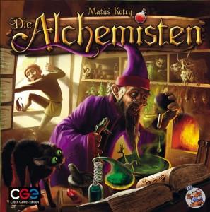 Die Alchemisten - Cover