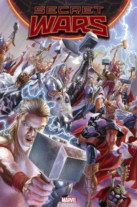 Marvels SECRET WARS Kickoff-Pressekonferenz