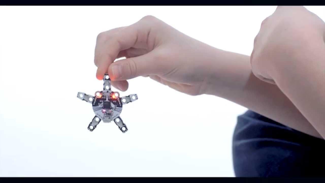 Kickstarter: QUIRKBOT – Roboter aus Strohhalmen