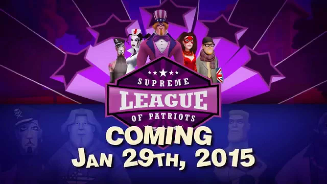 Point & Click: SUPREME LEAGUE OF PATRIOTS