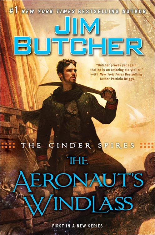 Cover und Inhalt: Jim Butchers THE AERONAUT´S WINDLASS