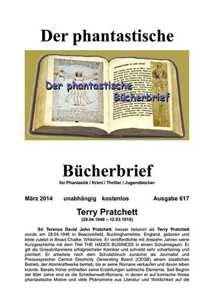 Der PHANTASTISCHE BÜCHERBRIEF 617 – März 2015