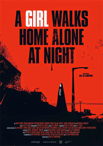 "Poster ""A Girl Walks Home Alone At Night"
