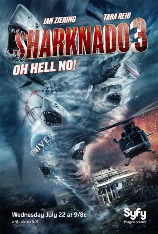 Poster: SHARKNADO 3