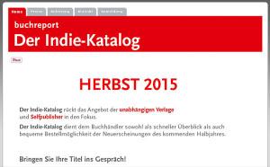 Screenshot Indie-Katalog