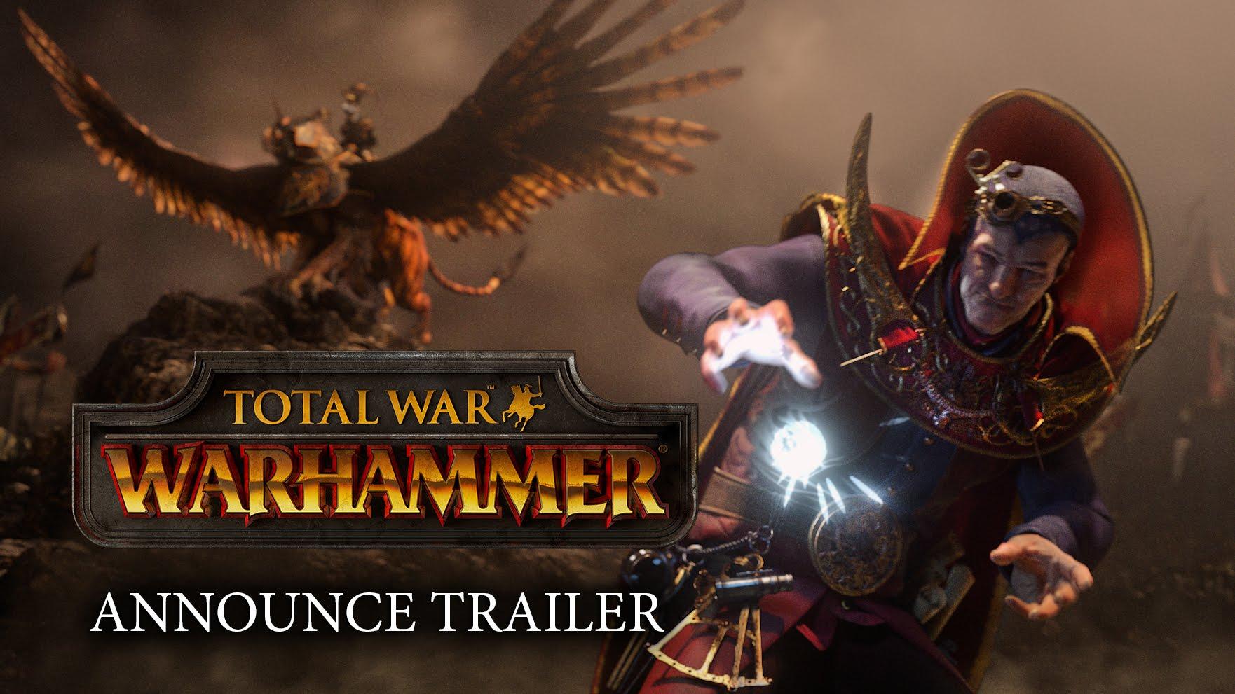 TOTAL WAR: WARHAMMER mit cinematischem Trailer angekündigt