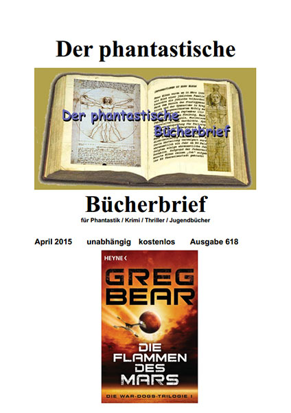 DER PHANTASTISCHE BÜCHERBRIEF 618, April 2015