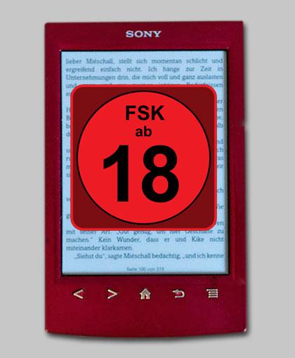 FSK auf eBooks: Luebbe fängt schon mal an?