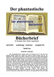 Cover Bücherbrief 614