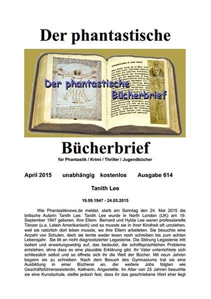 Der Phantastische Bücherbrief 614