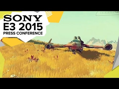 E3: NO MAN´S SKY Gameplay Präsentation
