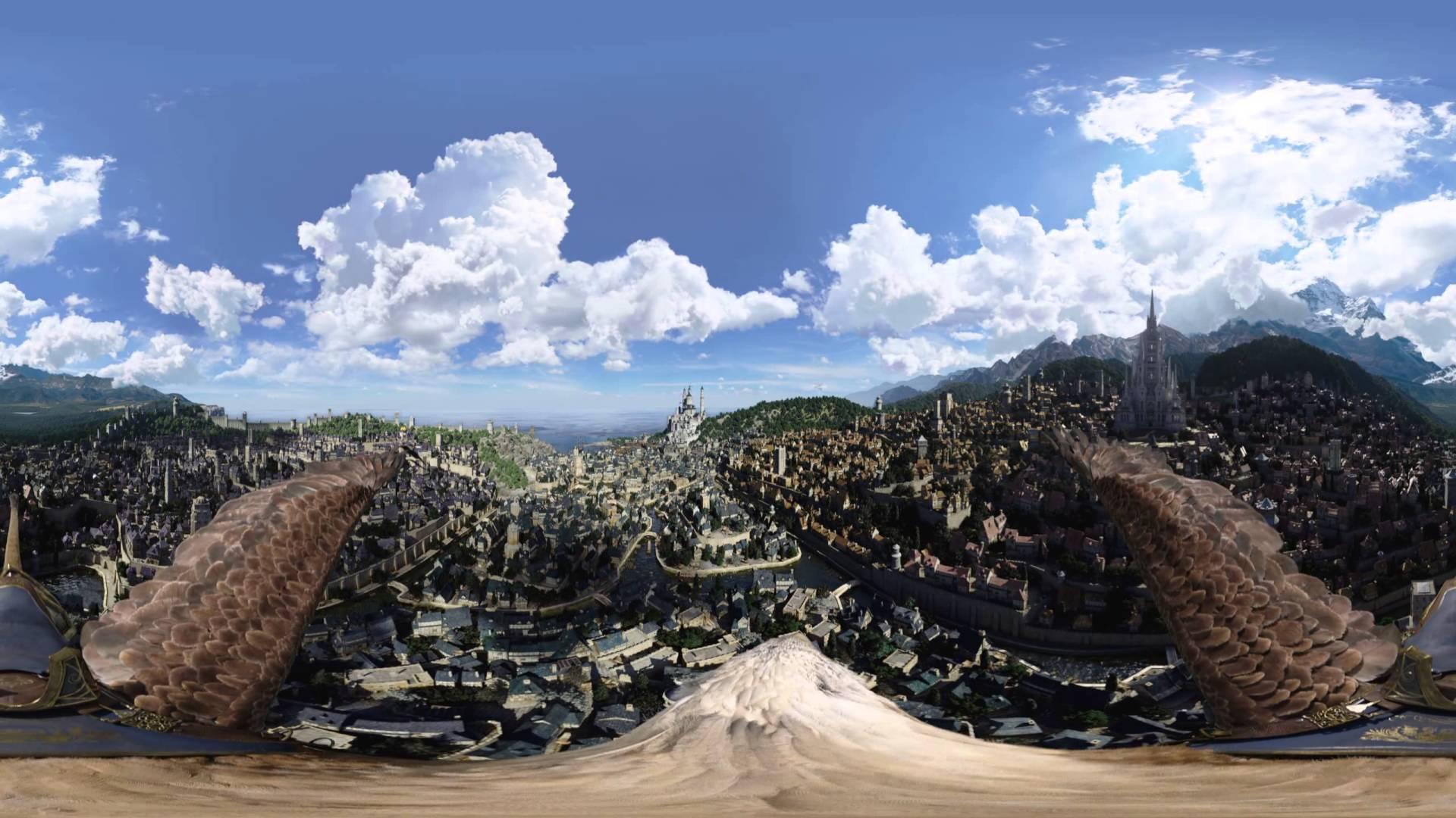 Der Hammer: WARCRAFT – 360 Grad-Rundumsicht-Flug über Stormwind