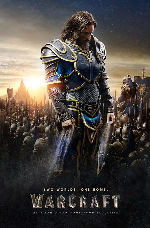 SDCC15: WARCRAFT-Poster Allianz und Horde