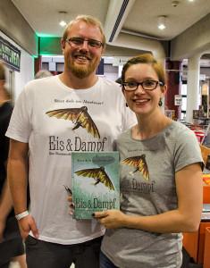 Christian und Judith mit EIS & DAMPF