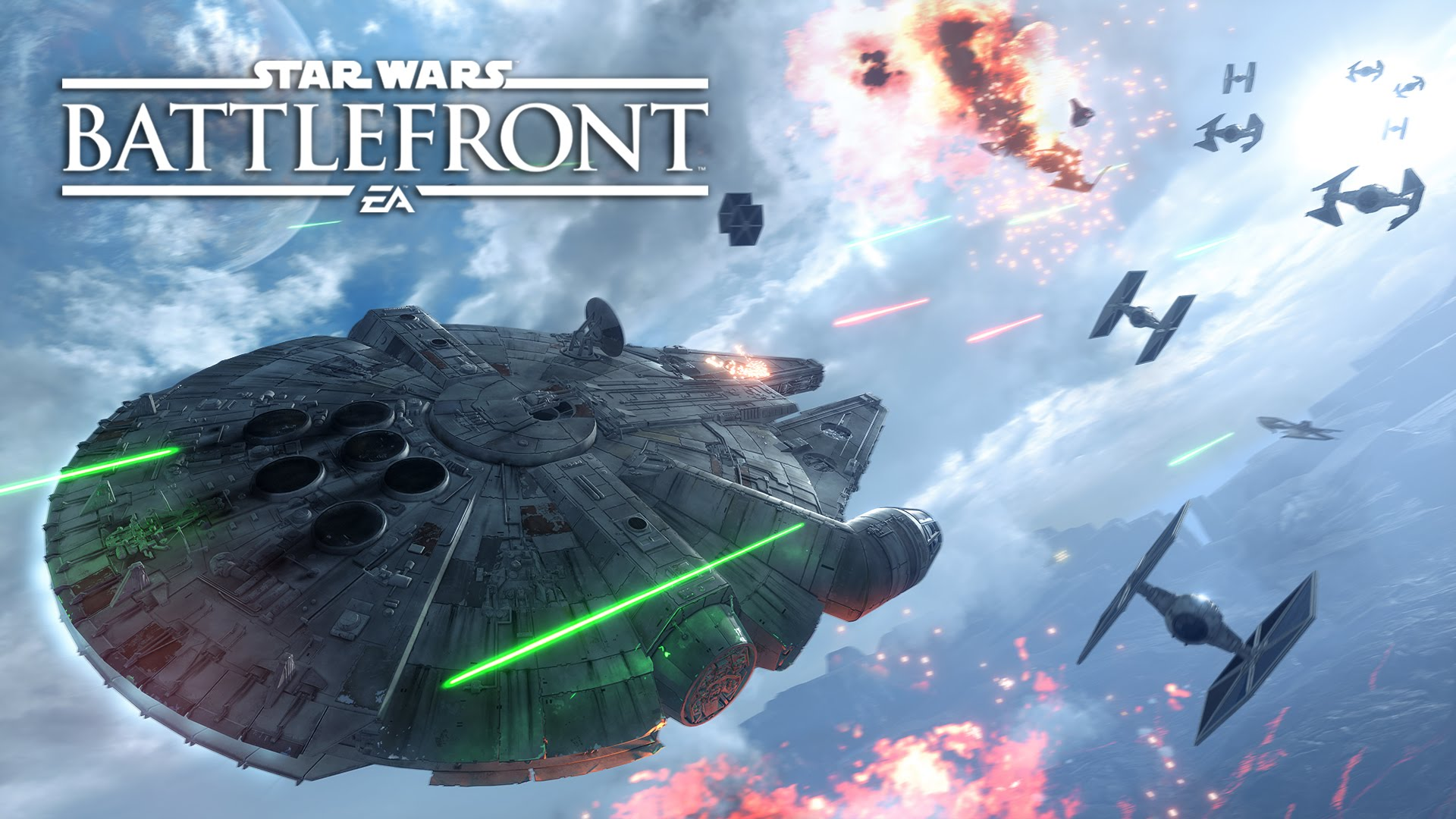 GamesCom: STAR WARS BATTLEFRONT »Luftkampf«
