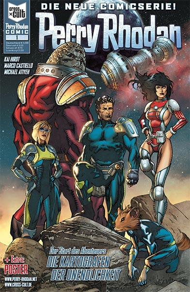 Neue PERRY RHODAN-Comicserie bei Cross Cult