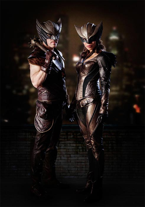 LEGENDS OF TOMORROW: Hawkman und Hawkgirl