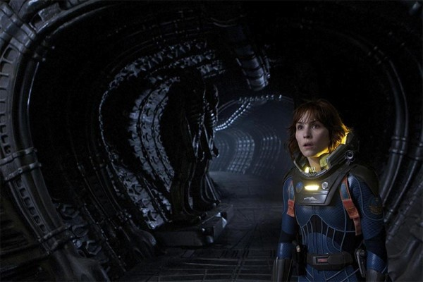 Noomi Rapache in Prometheus