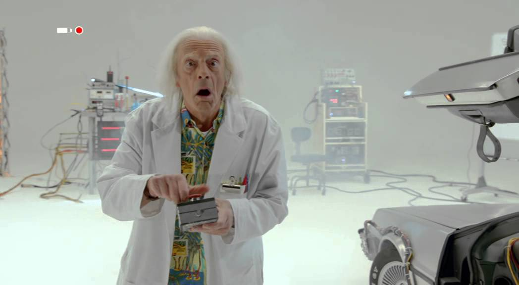 Teaser: DOC BROWN SAVES THE WORLD