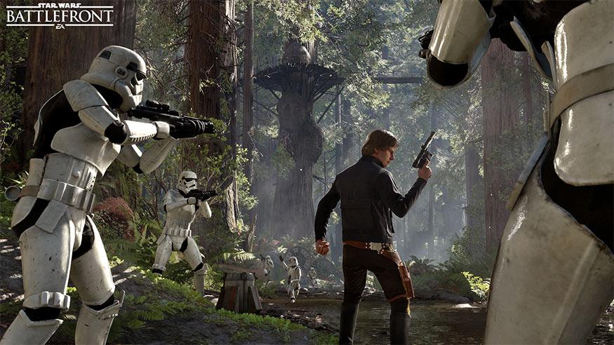 STAR WARS: BATTLEFRONT – Leia, Han und Palpatine
