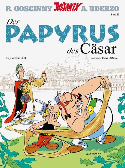 Erschienen: Der neue Asterix DER PAPYRUS DESCÄSAR