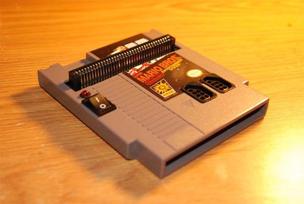 Für Frickler: Nintendo NES in einem Cartridge