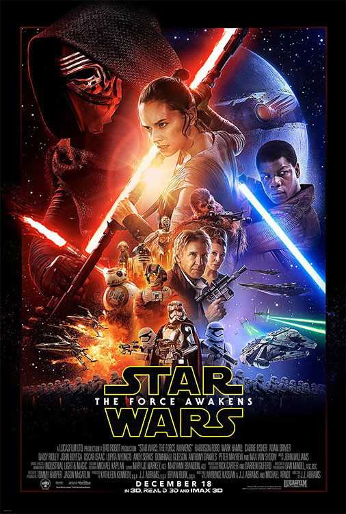 Poster: STAR WARS – THE FORCE AWAKENS