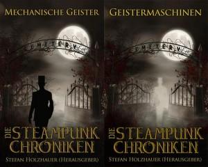 """Cover """"Mechanische Geister"""" und """"Geistermaschinen"""""""