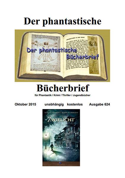 Der Phantastische Bücherbrief 624 – Oktober 2015