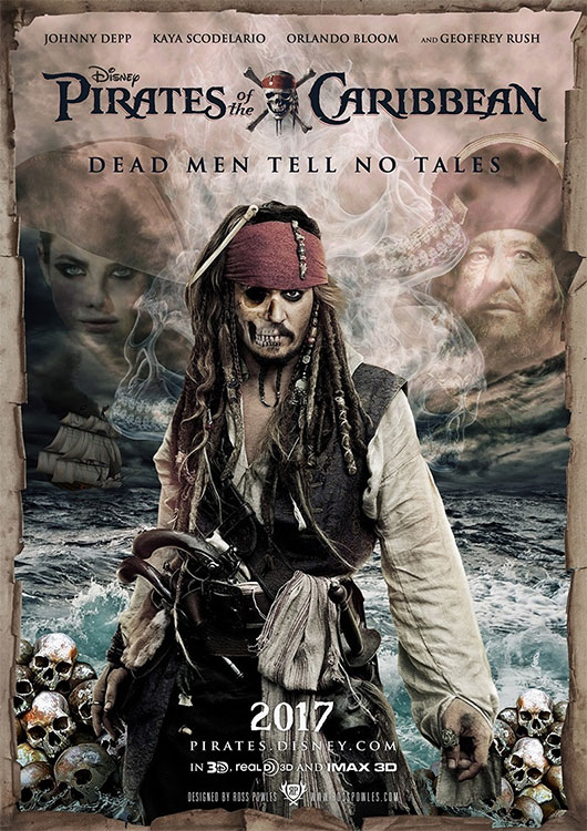 Poster: PIRATES OF THE CARIBBEAN – DEAD MEN TELL NO TALES