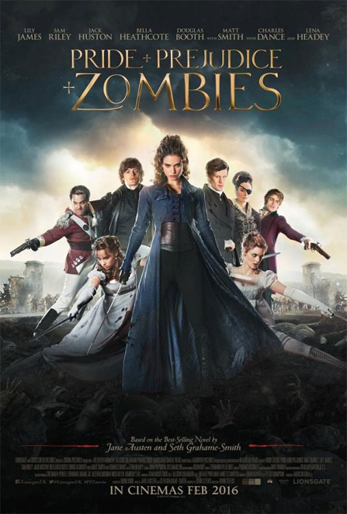 Poster und neuer Trailer: PRIDE AND PREJUDICE AND ZOMBIES