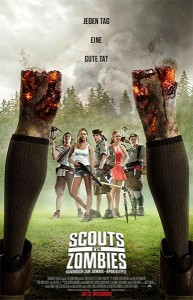 Poster Scouts vs Zombies