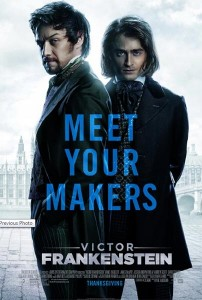 Poster Victor Frankenstein
