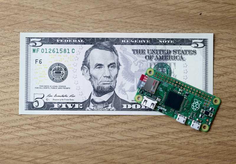 Nur 5Dollar: Raspberry Pi Zero