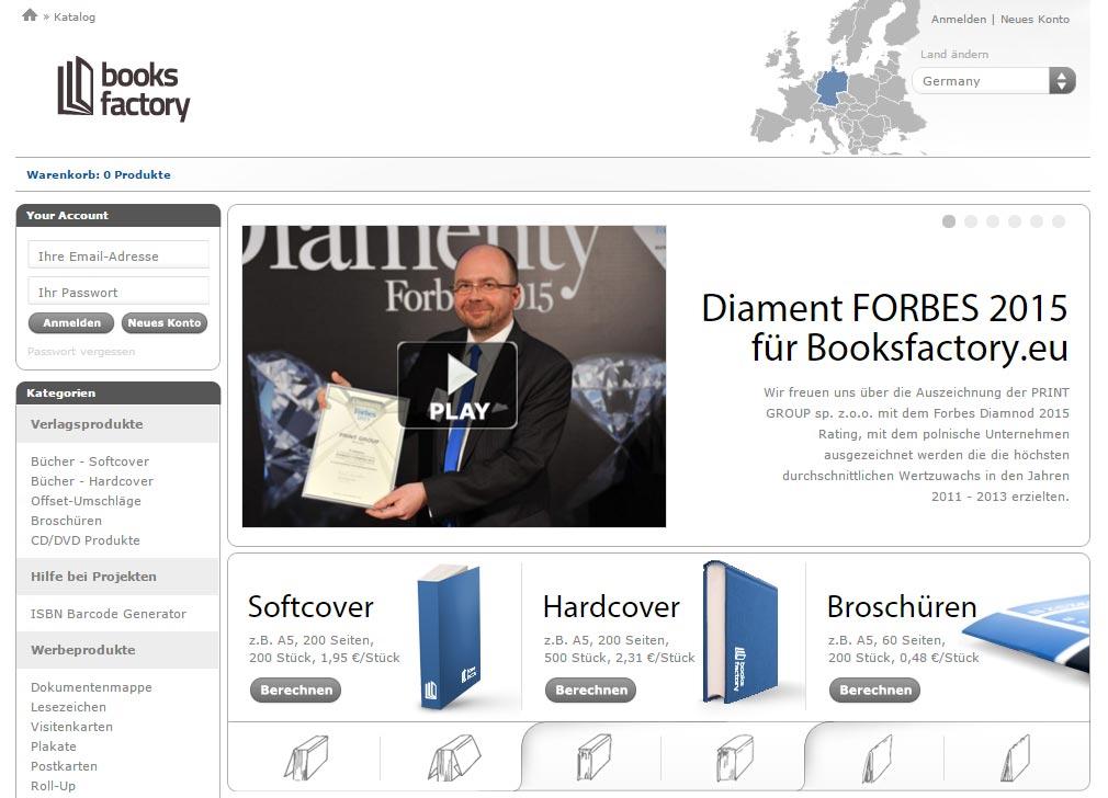 Booksfactory hat Kapazitätsprobleme