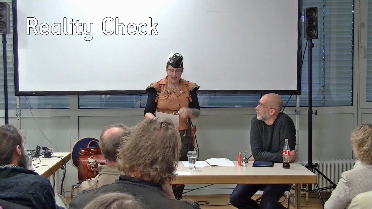 Reality Check: Vortrag von Anja Bagus und Alex Jahnke