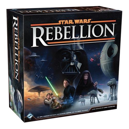 Brettspiel: STAR WARS REBELLION