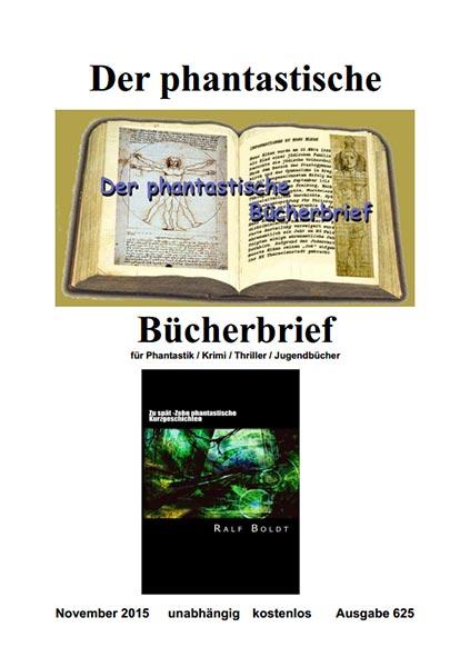 PHANTASTISCHER BÜCHERBRIEF 625