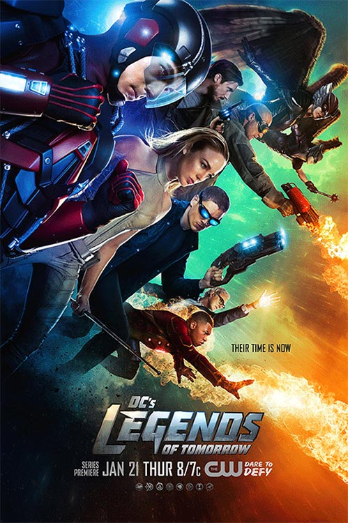 Poster: LEGENDS OF TOMORROW