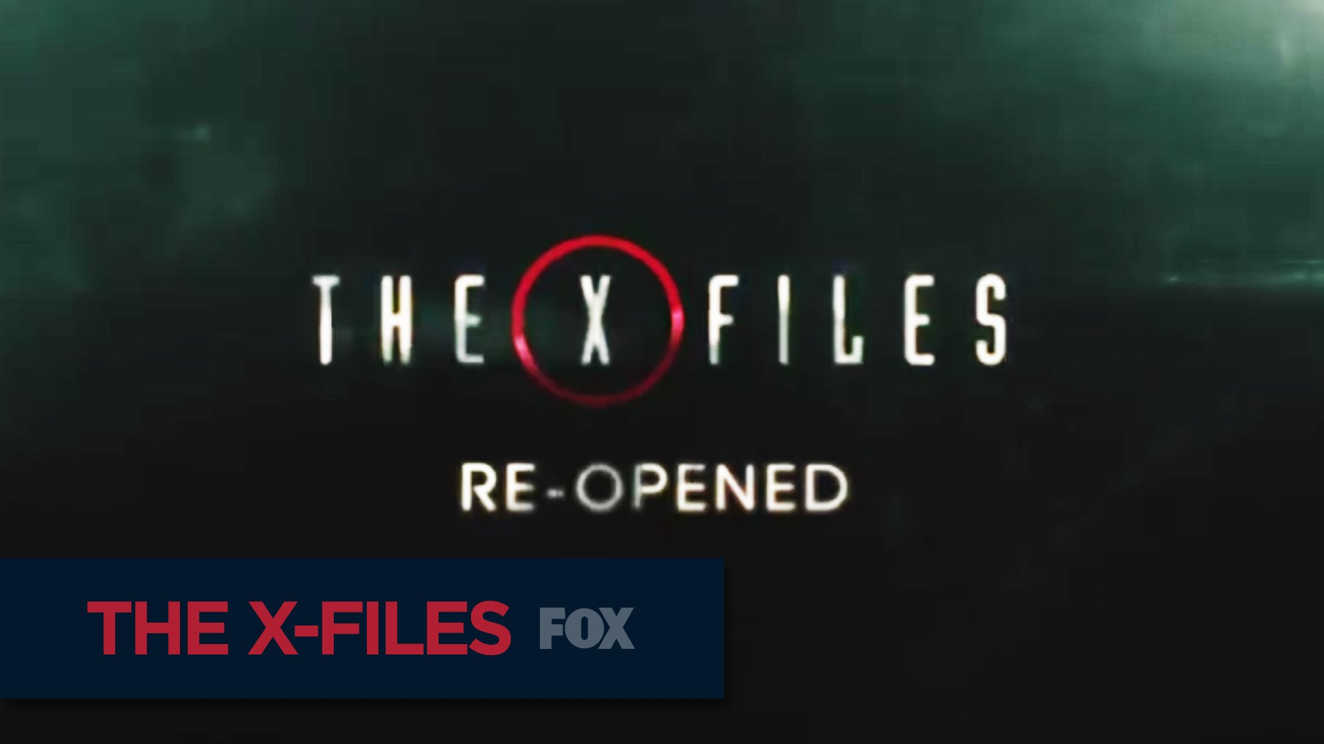 Mehr als 21 Minuten: X-FILES REOPENED Promo