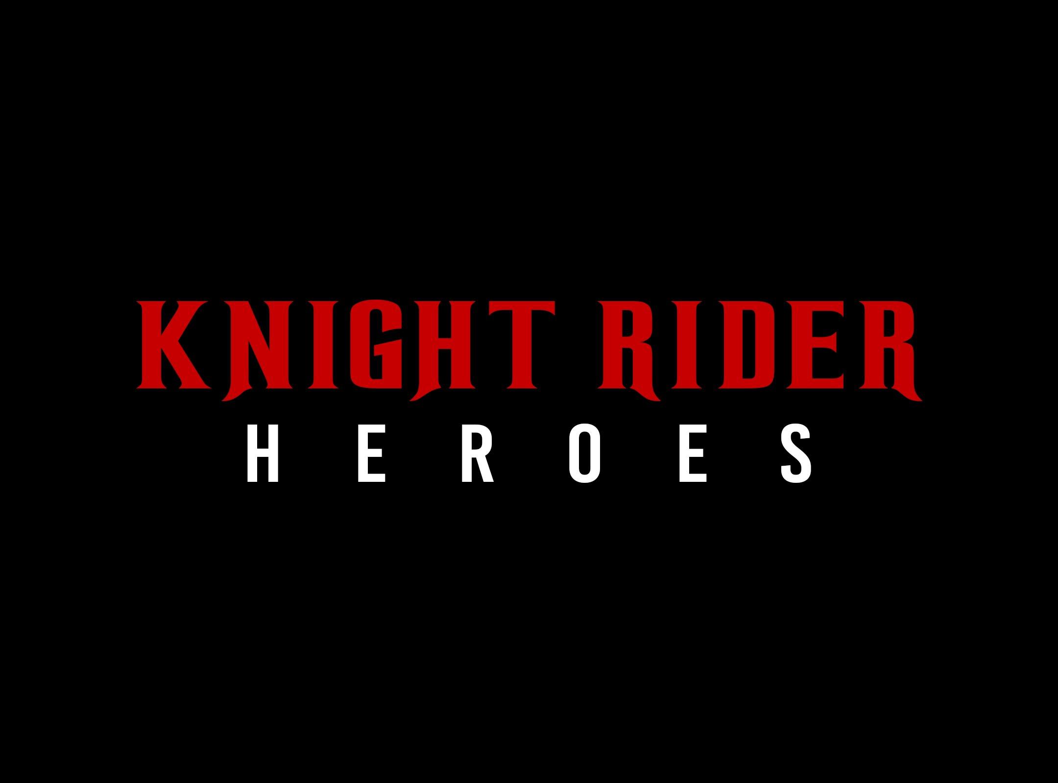 WTF? Teaser: KNIGHT RIDER HEROES