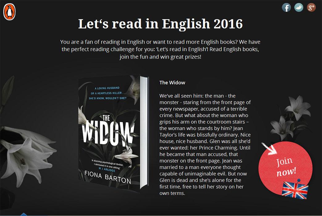 Lovelybooks entdeckt englische Bücher