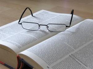 Brille Buch