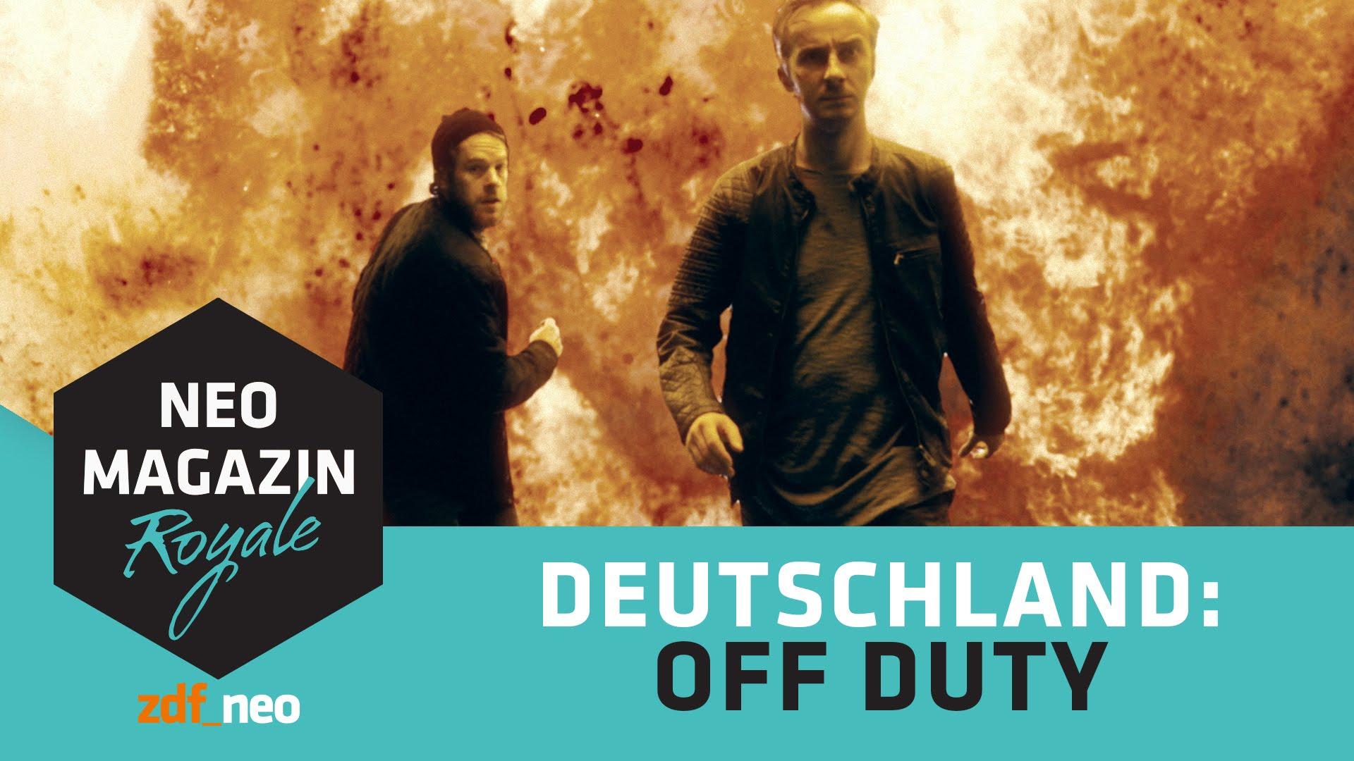 Jan Böhmermann – DEUTSCHLAND: OFF DUTY